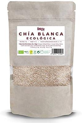 Semillas de Chía Blanca |100% Ecológica| 500 g | Vegana | Sin Gluten | Alto Contenido de Omegas y Minerales | Elimina Toxinas | Ricas en Fibra y Antioxidantes | Alto Poder Energético: Amazon.es: Salud y cuidado personal