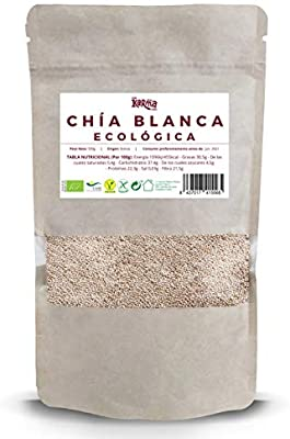 Semillas de Chía Blanca |100% Ecológica| 500 g | Vegana | Sin ...