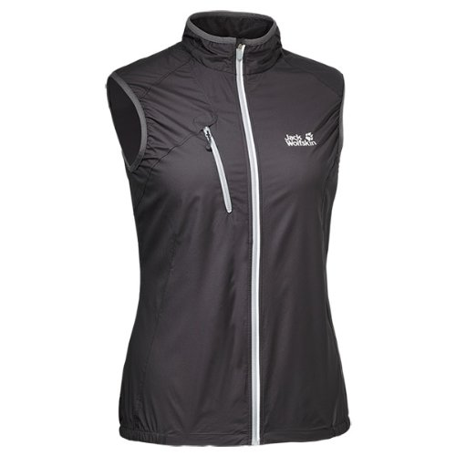 Jack Wolfskin Damen Softshellweste Exhalation Xt Vest Women, Dark Steel, XS, 1302601-6032001
