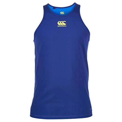 Canterbury Mercury TCR Singlet Running Vest - Medium - Blue