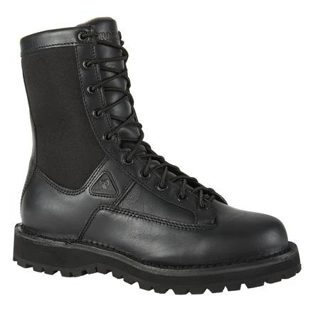 (Rocky Men's 8 Inch Portland 2080 Work Boot,Black,8 M US)