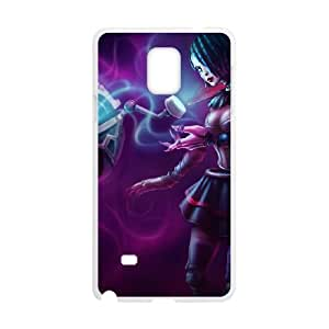 Samsung Galaxy Note 4 Cell Phone Case White League of Legends Gothic Orianna KP2053742