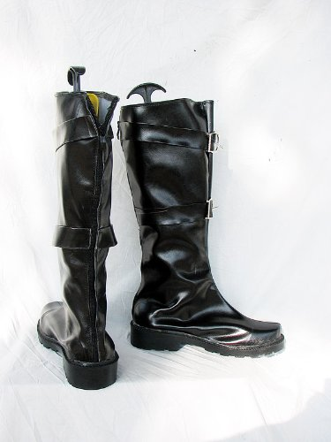 Final Fantasy VII FF7 Sephiroth Cosplay Shoes Boots Custom Made 2dTNCP7Xe