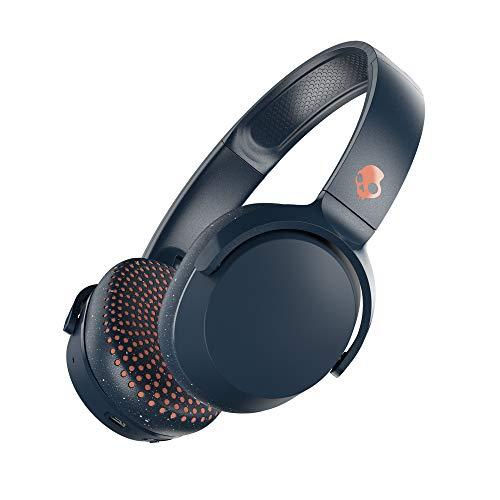 Skullcandy Riff Wireless On-Ear Headphone - Blue/Sunset (Skullcandy Ear On Headphones)