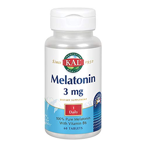 Melatonin 3mg Sustained Release Kal 60 - Release Sustained 3 Melatonin