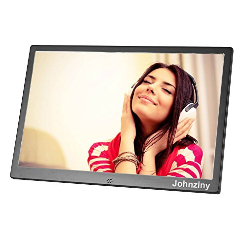 15.4 inch Digital Picture Frame Electronic Photo Frame High Resolution with Remote Control,Play Photo/Music/Video/Calendar/12 Languages,USB/SD/MMC/MS Card Port