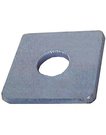 10 St/ück Vierkantscheiben DIN 436 26,0 f.M24 Edelstahl A4 f.Holzkonstr.