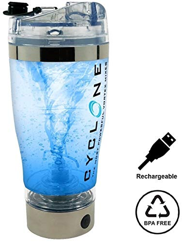 16oz USB Rechargeable Protein Shaker Vortex Bottle High-torque SS - PICKUP ONLY