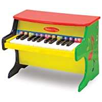 Melissa & Doug Piano para Aprender a Tocar con 25 Teclas y Libro de Canciones con Códigos de Color