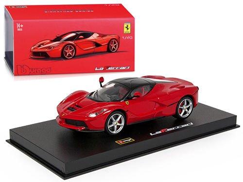 Ferrari Laferrari Red Signature Series 1/43 by Bburago (43 Red Diecast Model)