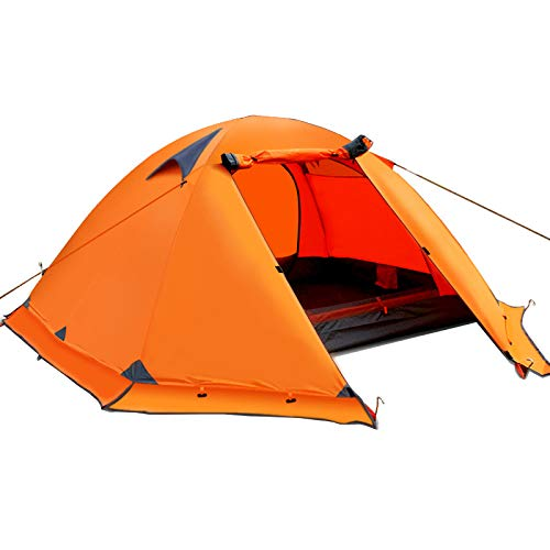 YANKK Ultralight Tent 1 and 2 Person Camping Tent Waterproof Dome Tent Immediately Set Up for Trekking, Outdoor…