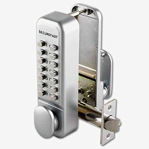 SECUREFAST SBL320 Easy Change Digital Lock with Tubular Latch & Holdback