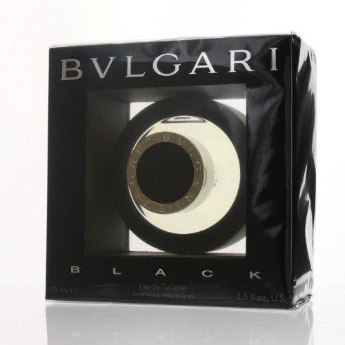 Black By Bvlgari Eau De Toilette Spray For Men 2.5 oz (Best Bvlgari Perfume 2019)