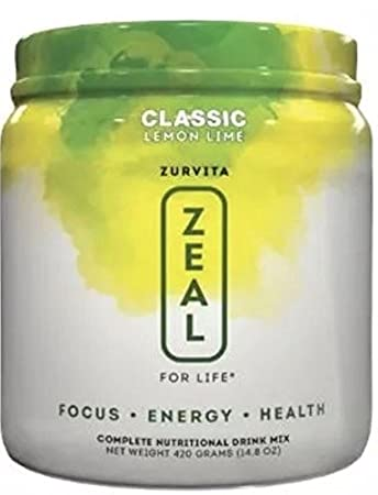 New Zeal For Life by Zurvita -Wellness Formula Lemon Lime - 30 Servings - 1