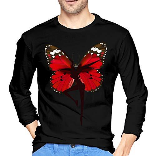 MarshallD Men's Dave Matthews Band Cotton Long Sleeve T-Shirt Black XXL ()