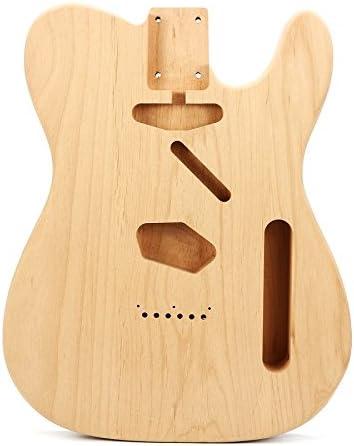 HKHJN Cuerpo eléctrico de bricolaje de madera de caoba para partes ...