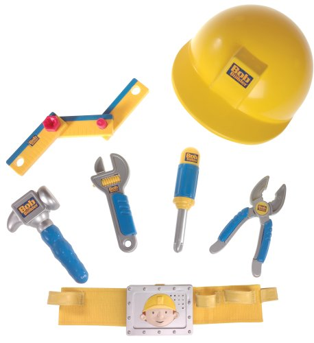(Learning Curve Bob The Builder - Deluxe Talking Tool Belt Set)