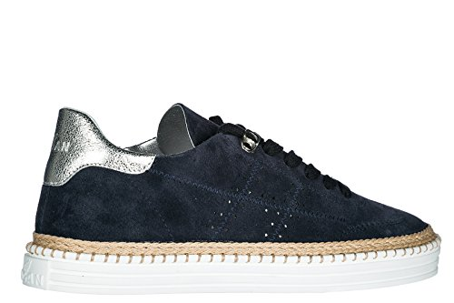 r260 Sneakers blu Trainers Suede Women's Shoes Hogan OanWPxXHqx