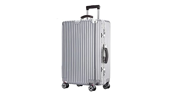 5 colors MING REN Luggage Sets Trolley case built-in password lock comfortable handle 2 sizes availa ABS//PC stylish small fresh and bright aluminum frame caster student large capacity suitcase