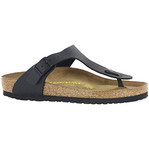 Birkenstock Gizeh Black Womens Sandals Size 37 EU