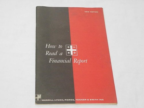 how-to-read-a-financial-report-1962-softcover-merrill-lynch-pierce-fenner-smith