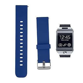 For Samsung Galaxy Gear 2 SM-R380 - Sport Silicone Smart Watch Band - Blue