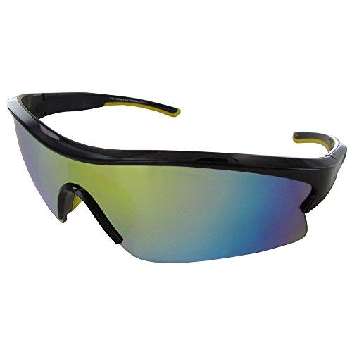 Vuarnet Extreme Unisex VE 7002 Wrap Polarized Sunglasses, Shiny ()