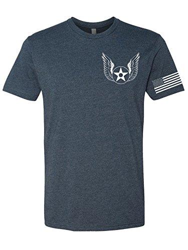 Tango Charlie Apparel Men's US Air Force T-Shirt - Support USAF - Medium