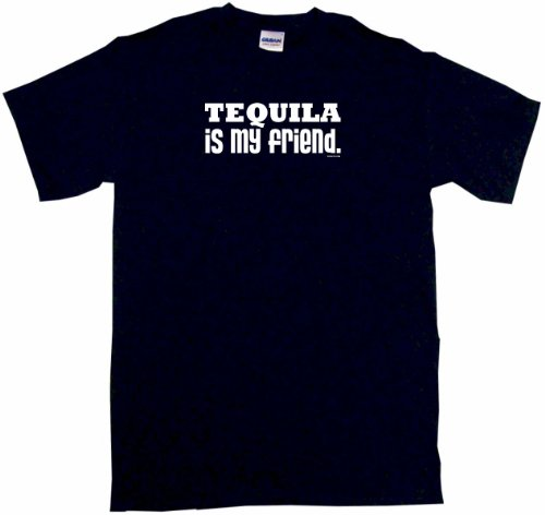Mezcal Reposado - Tequila is My Friend Women's Regular Fit Tee Shirt XXL-Black