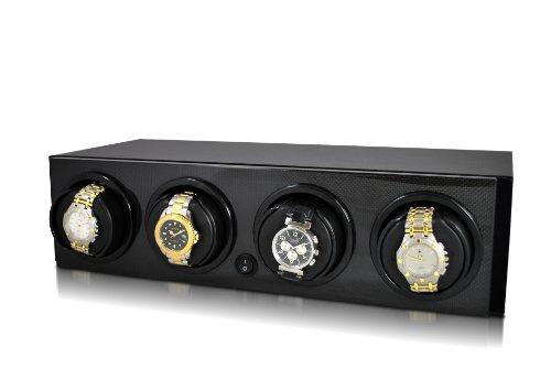 Orbita Avanti 4 Automatic Quad Watch Winder in Carbon Fiber - (Orbita Avanti Watch Winder)