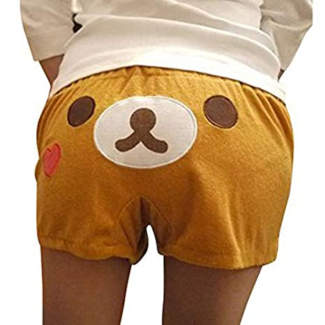 VOBAGA /® Womens San-x Rilakkuma Lounge Pant Sleep Shorts Sleepwear One Size