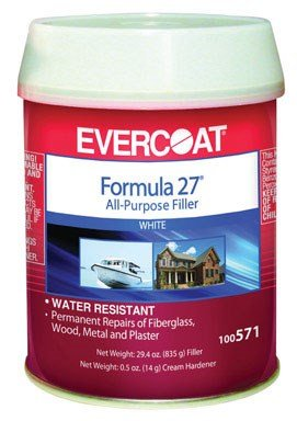 Formula 27 Filler - Fibre Glass Evercoat 100571 Formula 27 - 1 Pint