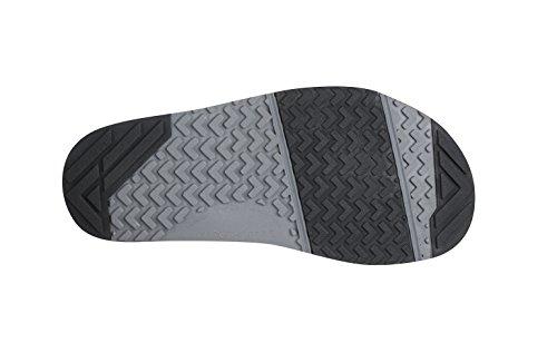Xero Schuhe Barfuß-inspirierte Sport Sandalen - Männer Z-Trail Kohle Schwarz / Schwarz