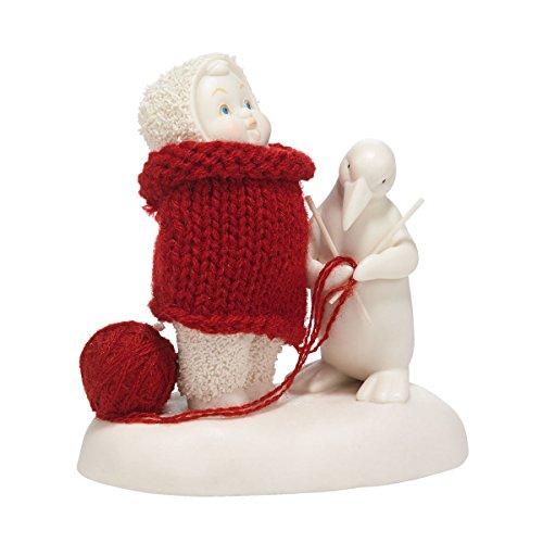 Department 56 Snowbabies Classics My Christmas Sweater Figurine, 4.25 inch