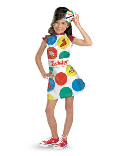 Hasbro Games Twister Girls Costume, (Halloween Twister Game)