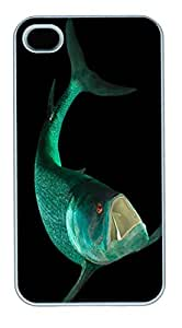 iPhone 4S Case and Cover -Gillicus Arcuatus Animal PC case Cover for iPhone 4 and iPhone 4s ¨C White
