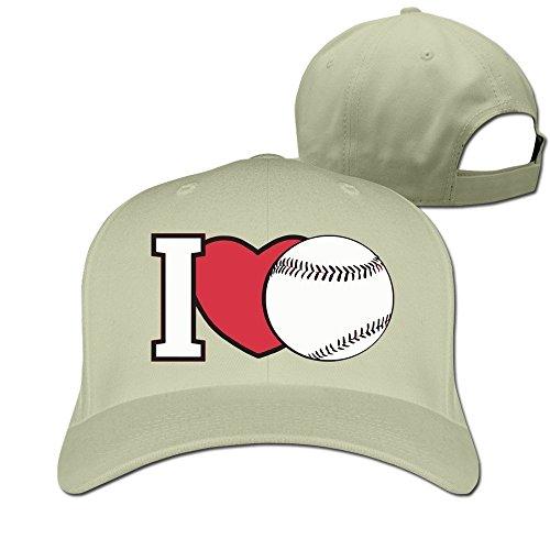 MaNeg I Heart Baseball Adjustable Hunting Peak Hat & - Shop Chanel Sunglasses