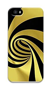 iPhone 5 5S Case Patterns Yellow Black 3D Custom iPhone 5 5S Case Cover