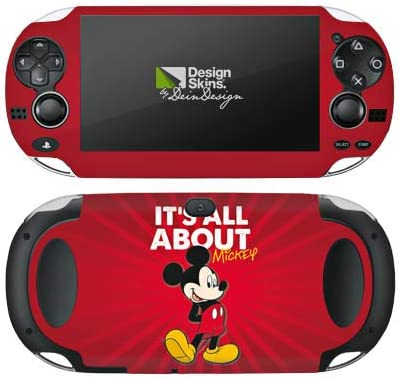 Skin kompatibel mit Sony PS Vita 1000 Aufkleber Folie Sticker Disney Micky Maus Mickey Mouse