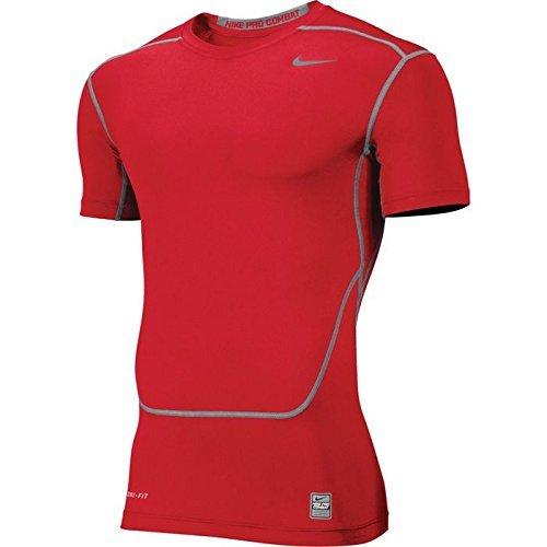 Nike Men's Core 2.0 Compression Training Shirt-Green-2XL