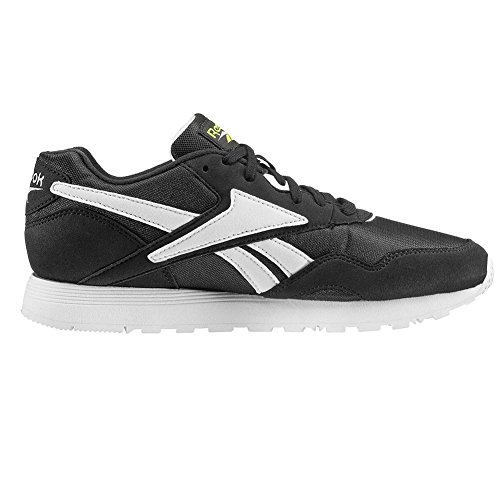 Reebok Chaussures Rapide OG Su Noir/Blanc/Jaune Taille: 45 lJilaNGxn