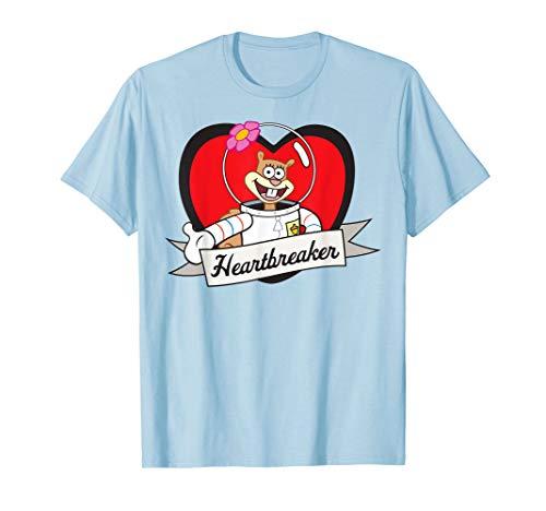 Girls Heartbreaker T-shirt - Spongebob Squarepants Sandy Heartbreaker T-Shirt
