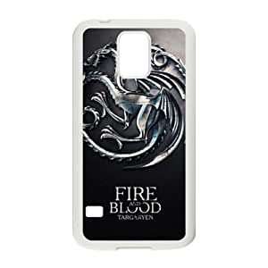 Fire Blood Cell Phone Case for Samsung Galaxy S5