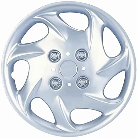 Drive Accessories KT-881-15S/L, Nissan, 15 Silver Replica Wheel Cover, (Set of 4) by AutoSmart: Amazon.es: Coche y moto