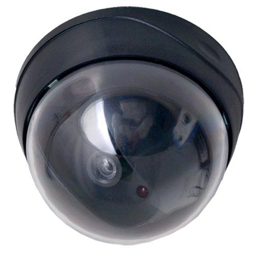 Dummy Camera Cámara de Seguridad Vigilancia Falsa Bola: Amazon.es: Bricolaje y herramientas