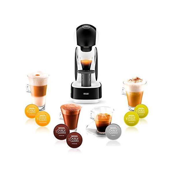 De'Longhi Nescafé Dolce Gusto Infinissima EDG260.W Macchina per Caffè Espresso e altre Bevande Manuale, Bianco 6