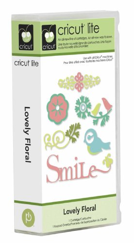 Cricut Lite Cartridge - Lovely Floral by Cricut
