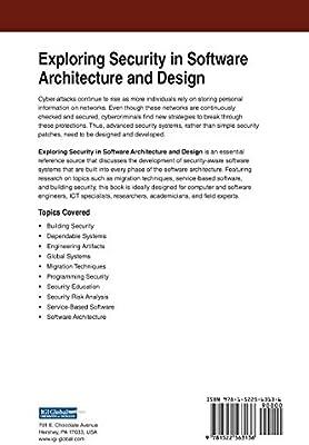 Exploring Security In Software Architecture And Design Felderer Michael Scandariato Riccardo Amazon Sg Books