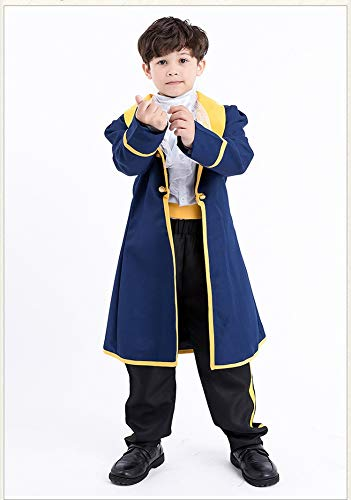 Halloween Children's Prince Clothes Boy Parent-Child Halloween COS Clothing European and American Anime Cosplay -