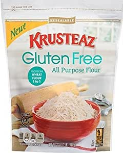 Amazon.com : Krusteaz Gluten Free All Purpose Flour, 32 Oz